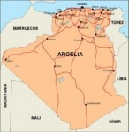 algeria_countrymap vector map
