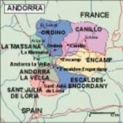 andorra_political vector map