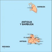 antigua_countrymap vector map