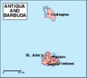 antigua_geography vector map
