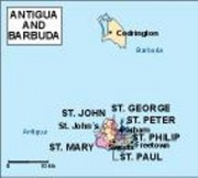 antigua_political vector map