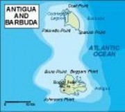 antigua_topographical vector map