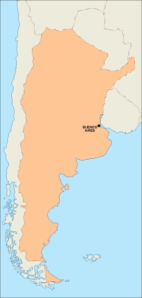 Download Argentina Vector Map As Digital File Purchase Online - Argentina map vector