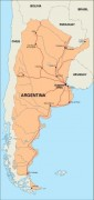 argentina_countrymap vector map