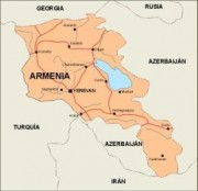 armenia_countrymap vector map