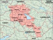armenia_geography vector map