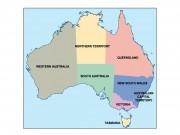 australia powerpoint map