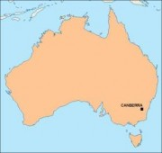 australia_blankmap vector map