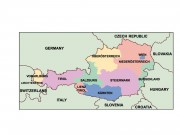 austria powerpoint map