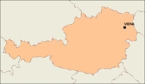 austria_blankmap vector map