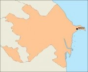 azerbaijan_blankmap vector map