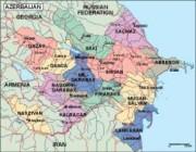 azerbaijan_political vector map