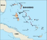bahamas_countrymap vector map