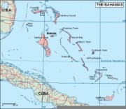 bahamas_geography vector map