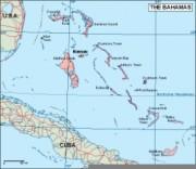 bahamas_geography vector map