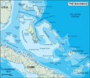 bahamas_topographical vector map
