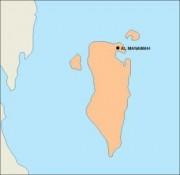 bahrain_blankmap vector map