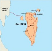 bahrain_countrymap vector map