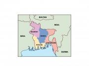 bangladesh powerpoint map