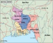 bangladesh_political vector map