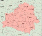 belarus_geography vector map