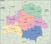 belarus_political vector map