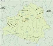 belarus_topographical vector map