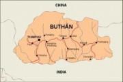 bhutan_countrymap vector map