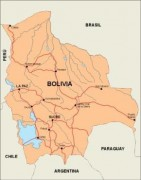 bolivia_countrymap vector map