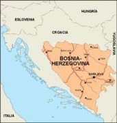bosnia_countrymap vector map