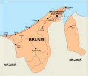 brunei_countrymap vector map