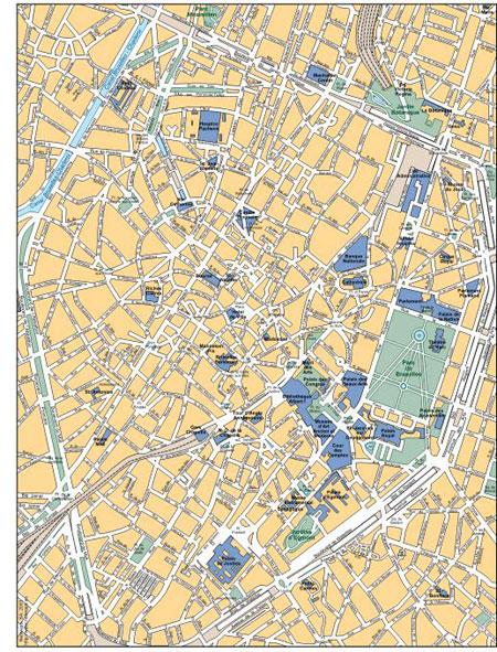 brussel street map