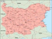 bulgaria_geography vector map