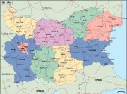 bulgaria_political vector map