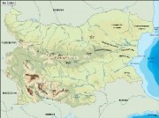 bulgaria_topographical vector map