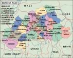 burkinafaso_political vector map