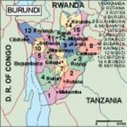 burundi_political vector map