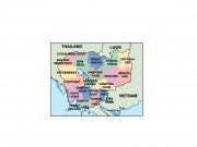 cambodia powerpoint map