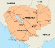 cambodja_countrymap vector map