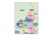 cameroon powerpoint map