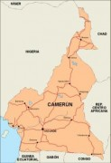 cameroon_countrymap vector map