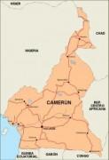 cameroon_countrymap vector map