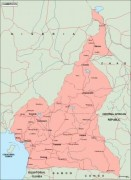 cameroon_geography vector map
