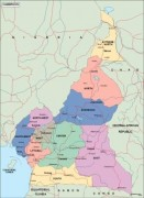cameroon_political vector map