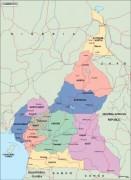 cameroon_political vector map