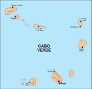capeverde vector map