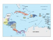 central_america powerpoint map