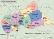 centralafrica vector map