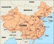 china_countrymap vector map