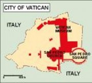 cityofvatican_political vector map